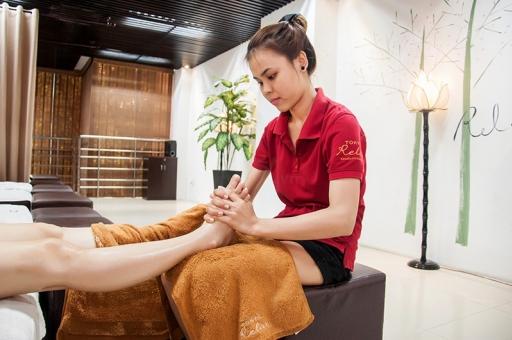 Spa massage thư giãn